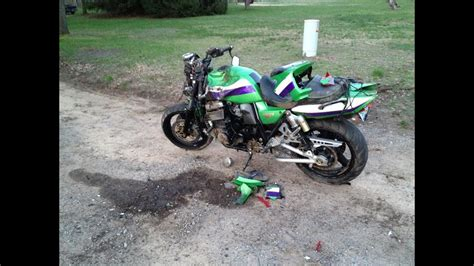 Horrible Motorcycle Accident