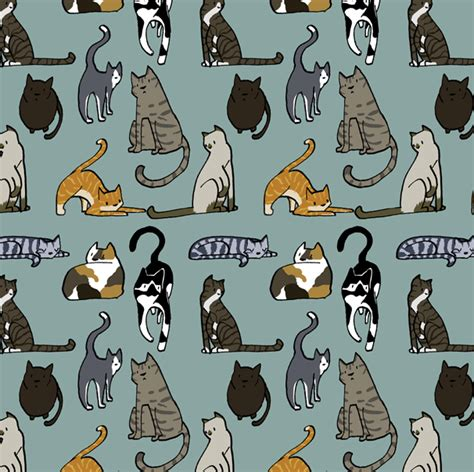 Cat Pattern « Daisy Hillyard