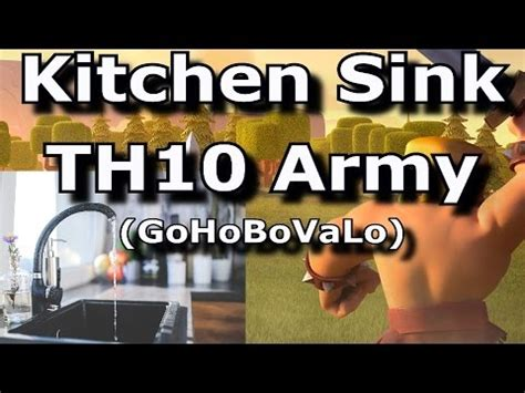 kitchen sink attack kitchen sink th10 3 army gohobovalo golem walk 2568
