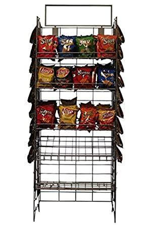 Amazon.com: 5 SHELF CHIPS OR CANDY DISPLAY RACK, GREAT