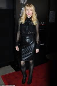 Courtney Love Leather