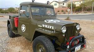 Jeep Willys Truck  Pickup  Classic Historic Ww2 1945