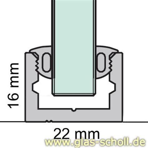 u profile für glasscheiben glas scholl webshop boden wand profil mit silikonband u profil silber matt artikel rund
