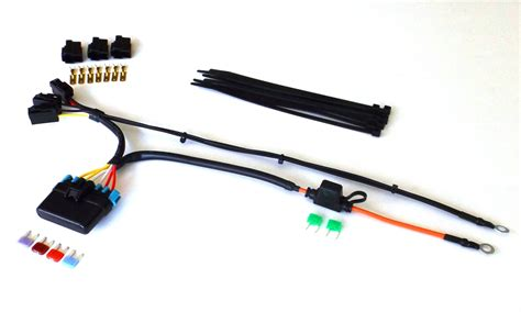 Motorcycle Electrical Fuse Box by Motorcycle Fuse Box Panel Relay Kits Motorcycle