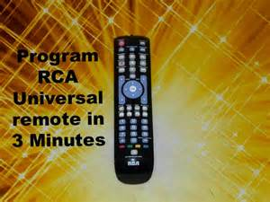How to Program RCA Universal Remote Codes