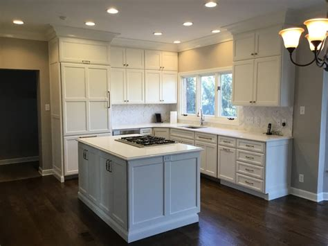 stark white kitchen remodel   callier