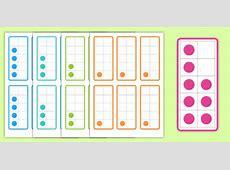 Tens Frame Flashcards