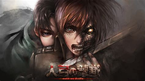 shingeki  kyojin anime wallpapers hd desktop