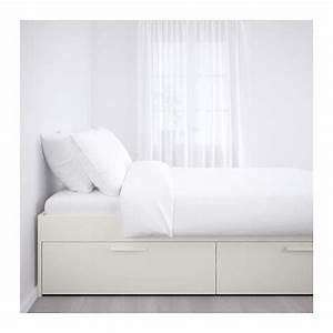 Bettgestell Mit Aufbewahrung : brimnes bettgestell mit schubladen 180x200 cm ikea ~ Sanjose-hotels-ca.com Haus und Dekorationen