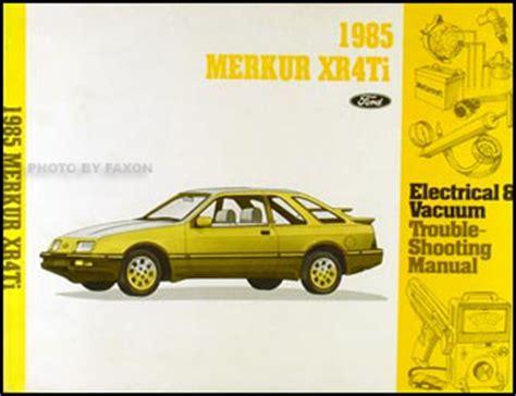 Merkur Xrti Electrical Vacuum Troubleshooting