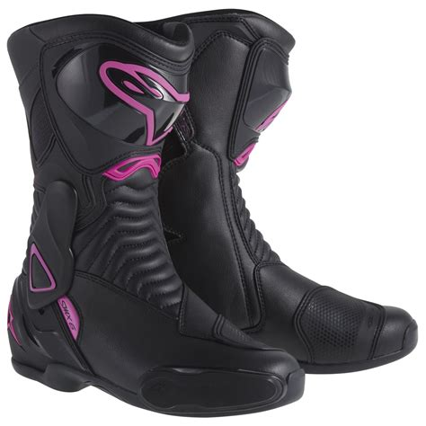 womens motorcycle race boots alpinestars stella smx 6 womens boots sport race boots