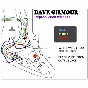 David Gilmour Fender Strat Wiring Diagrams    Wiring Diagram