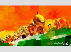 Happy 72th Independence Day of India HD Wallpapers with