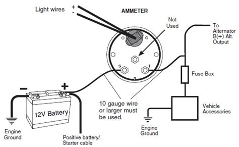 how to install auto meter voltmeter gauge electrical
