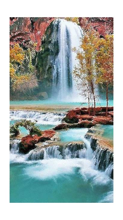 Places Waterfall Nature Waterfalls Canyon Grand Water