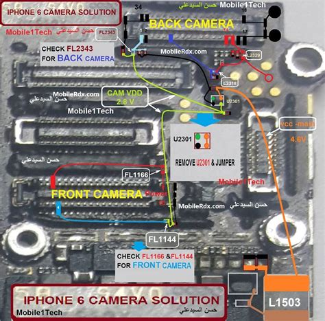 iphone  camera problem repair solution ways mobilerdx