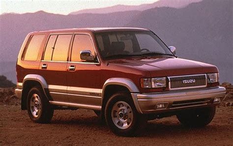 isuzu trooper consumer reviews  car reviews