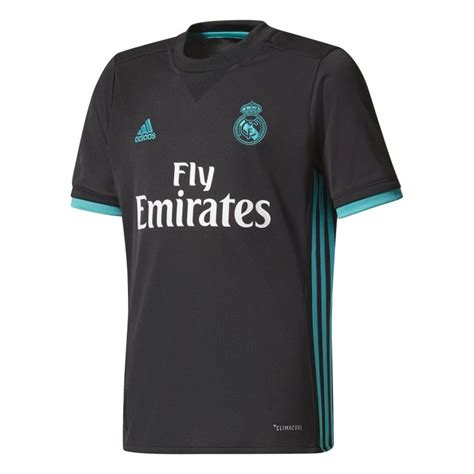 maillot exterieur real madrid maillot junior real madrid ext 233 rieur 2017 18 sur foot fr