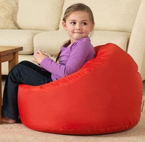 colourful bean bag chairs featured on tv