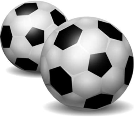 pair  footballs clip art  clkercom vector clip art
