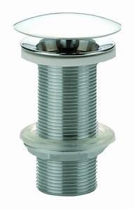Bonde Lavabo Sans Trop Plein : bonde laiton coulement libre pour vasque sans trop plein ~ Dailycaller-alerts.com Idées de Décoration