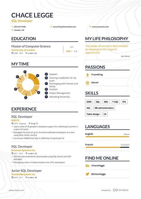Developer Resume Exle by Junior Sql Developer Responsibilities The Best Developer