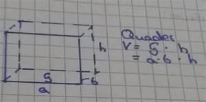 Kalkulatorische Miete Berechnen : volumen von einem quader mathe wiwi ~ Themetempest.com Abrechnung