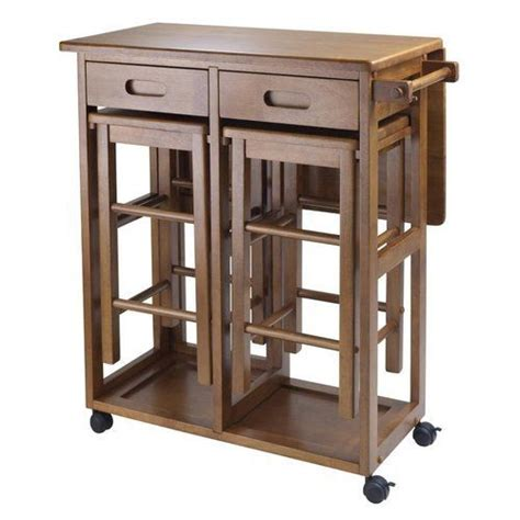 small kitchen island with stools small kitchen island table brown wood rolling lock compact