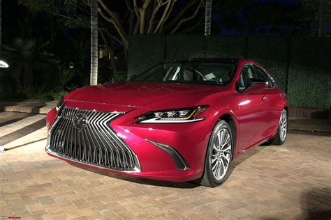 lexus es revealed team bhp