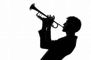 Person Playing Trumpet Silhouette - ClipArt Best