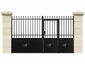 Portail 4 Metres Brico Depot : portail battant cuba fer 3 m sans portillon non ~ Dailycaller-alerts.com Idées de Décoration