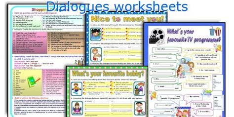 all worksheets 187 dialogue writing worksheets for grade 4