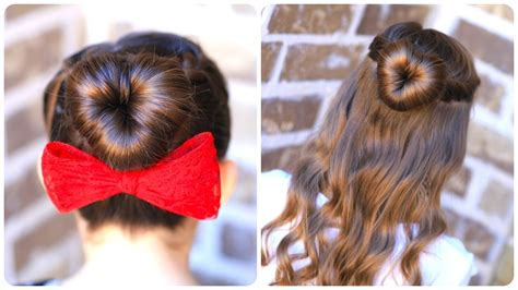 heart bun hairstyle 14 adorable heart shaped hairstyles for young ladies
