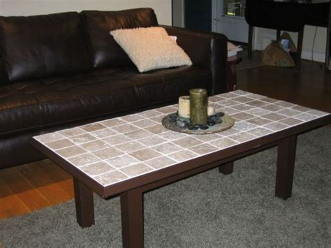 tile on table top cool ideas