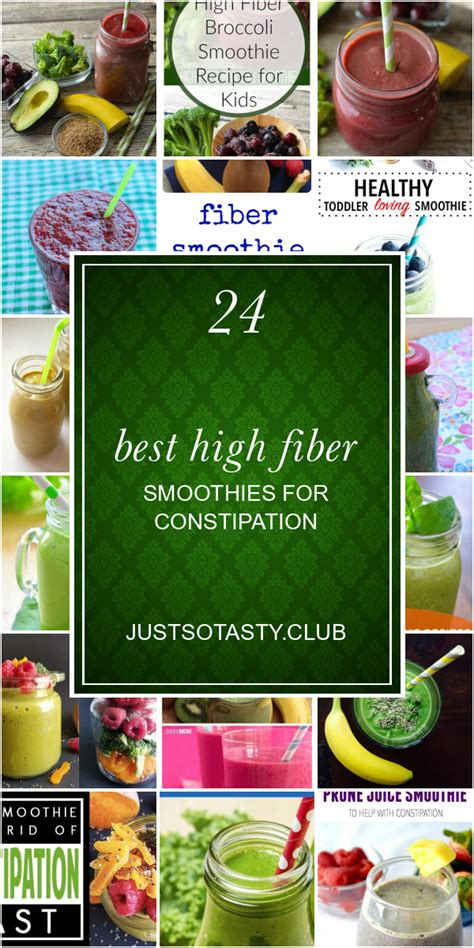 One large asian pear has a whopping 9.9 grams of it. Healthy High Fiber Smoothie Recipes For Constipation ...