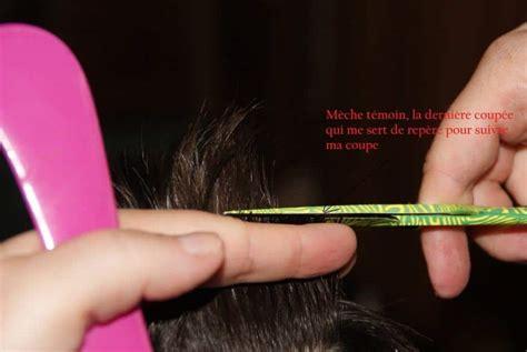 technique coupe cheveux homme ciseaux coiffures  la