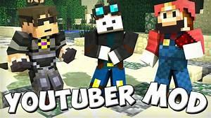 Minecraft Mods Youtubers Mod TheDiamondMinecart