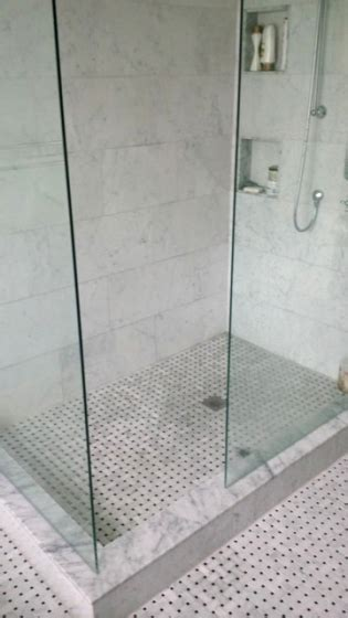 Bathroom Tile Next To Wood Floor
