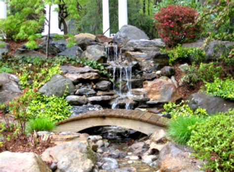 diy waterfall pond ideas water gardens ideas goodhomezcom