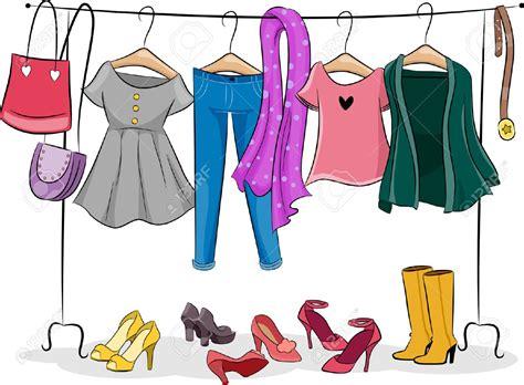 Clip Clothes Clothes Clipart Clothing Rack Graphics Illustrations