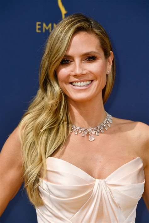 Heidi Klum Side Sweep Looks Stylebistro