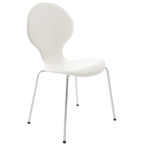 chaise design contemporain chaise design contemporain vlind crème