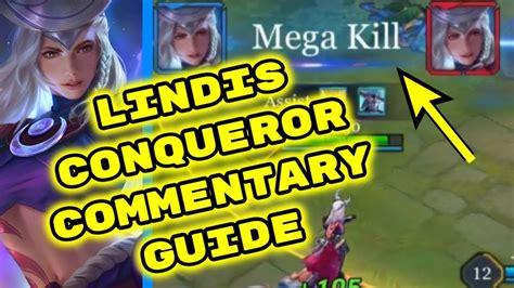 Lindis Jungle Conqueror Commentary Guide (mega Kill