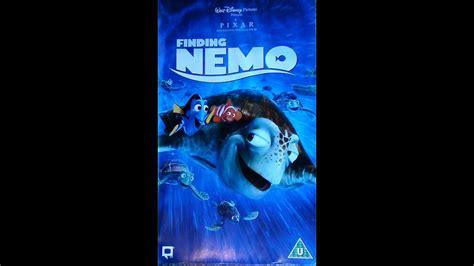 Digitized Opening To Finding Nemo (uk Vhs)