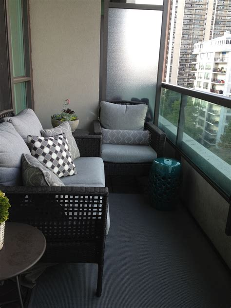Apartment Furniture by Small Balcony Furniture Option Homesfeed