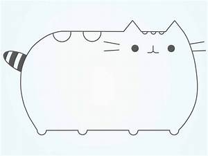 How to Draw Pusheen the Cat: 9 Steps (with Pictures) - wikiHow