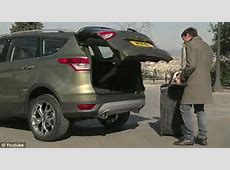 Kick start your trunk Ford unveils model that lets you