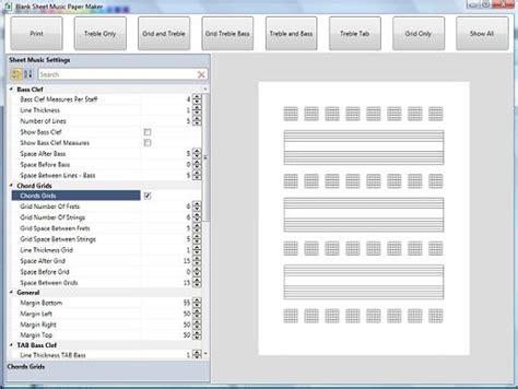 blank sheet music screen shot