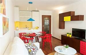 Küche Und Wohnzimmer In Einem Kleinen Raum : wohnideen f r kleine r ume 25 wohn schlafzimmer ~ Markanthonyermac.com Haus und Dekorationen