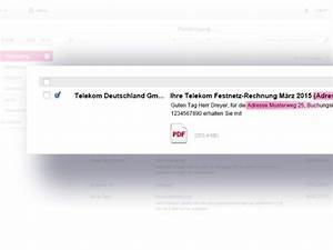 Telekom Rechnung Drucken : deutsche telekom so macht die telekom die rechnung online ~ Themetempest.com Abrechnung